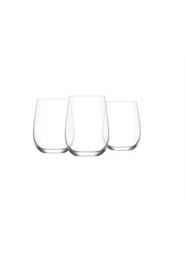 Lav Gaia Su Bardağı Seti Takımı - 36 Prç. Su Takımı 3 Boy Renkli